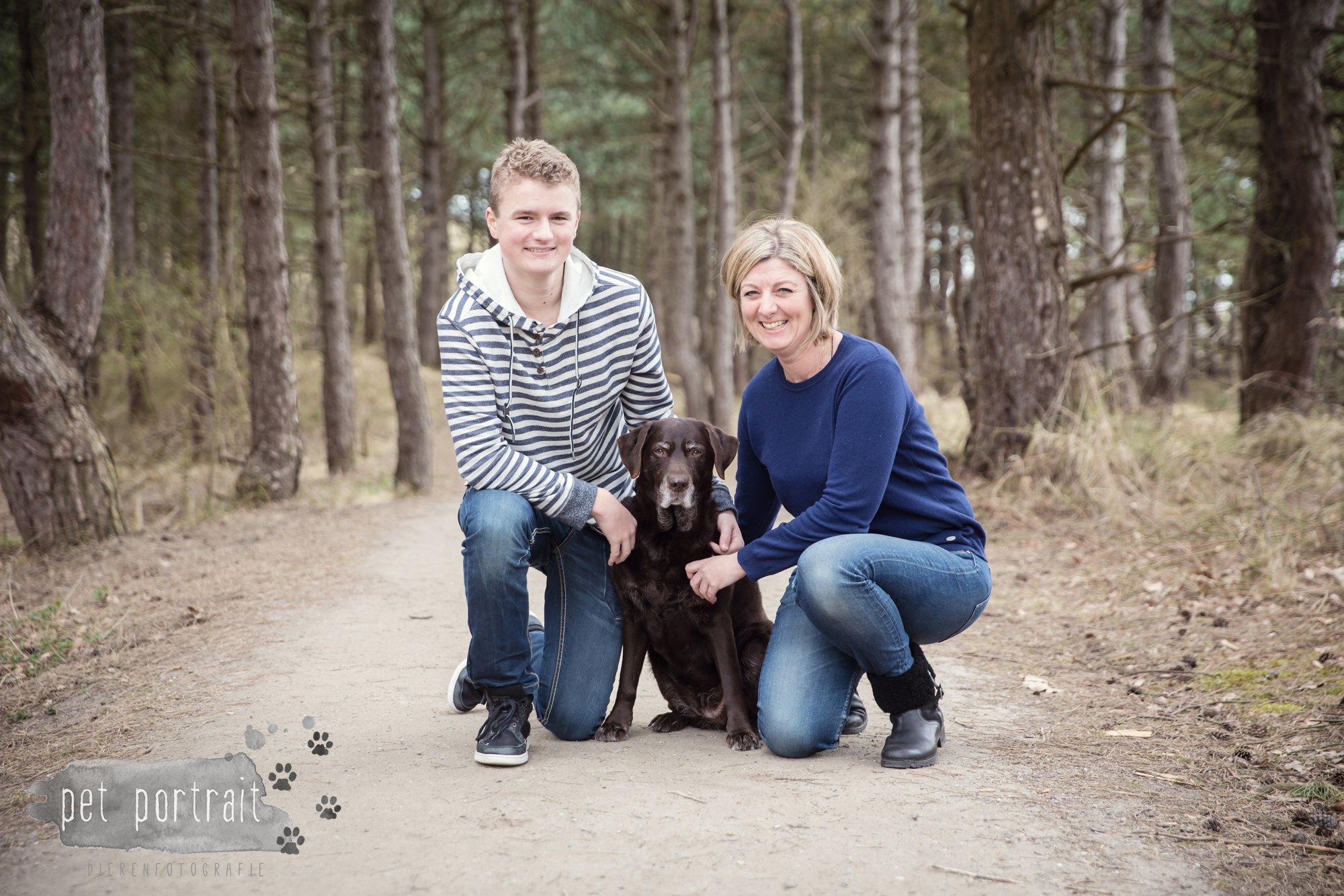Hondenfotograaf Wassenaar - Labrador Apple-1