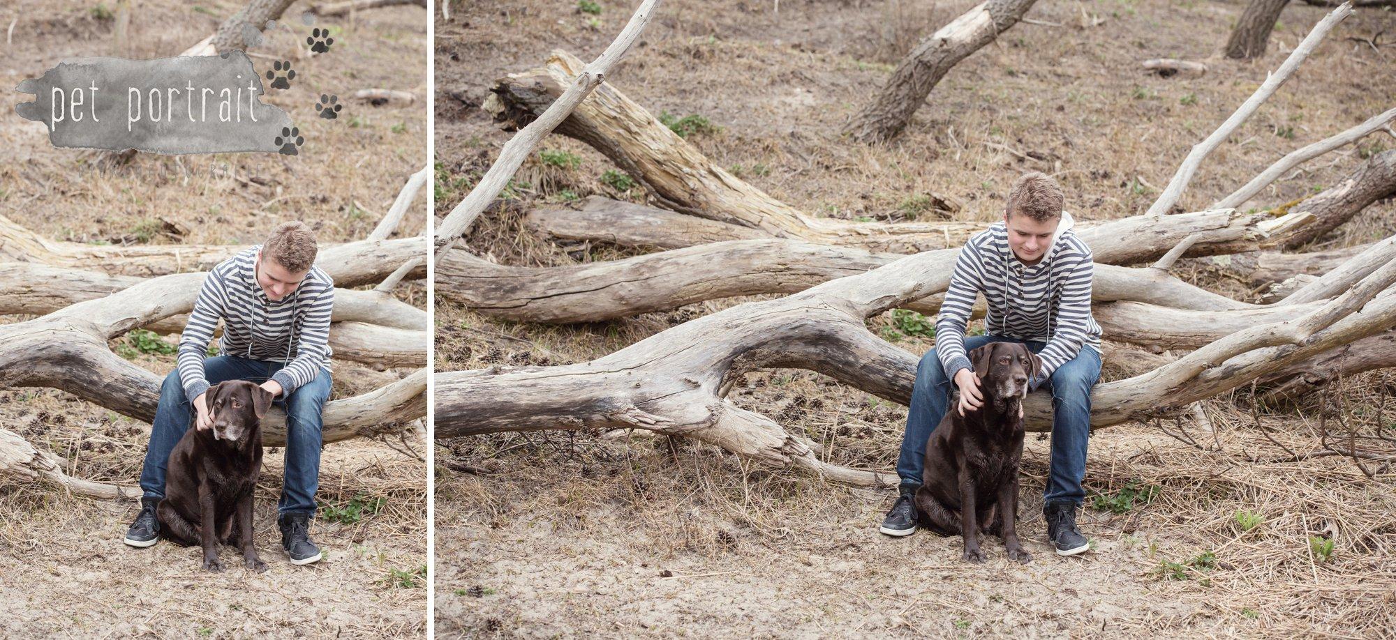 Hondenfotograaf Wassenaar - Labrador Apple-4
