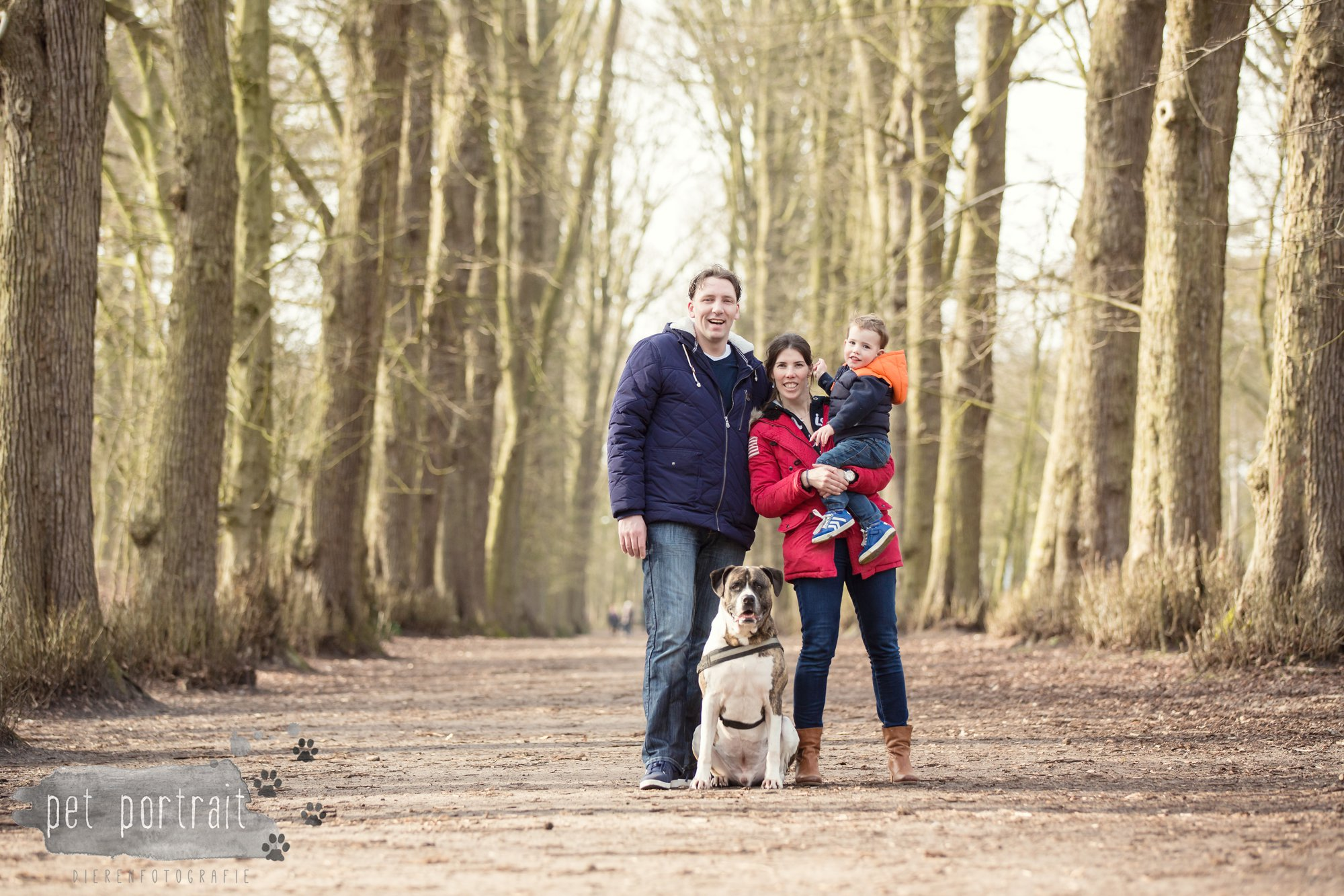 Hondenfotograaf Heemstede - Dier en Baasje fotoshoot in het bos-6