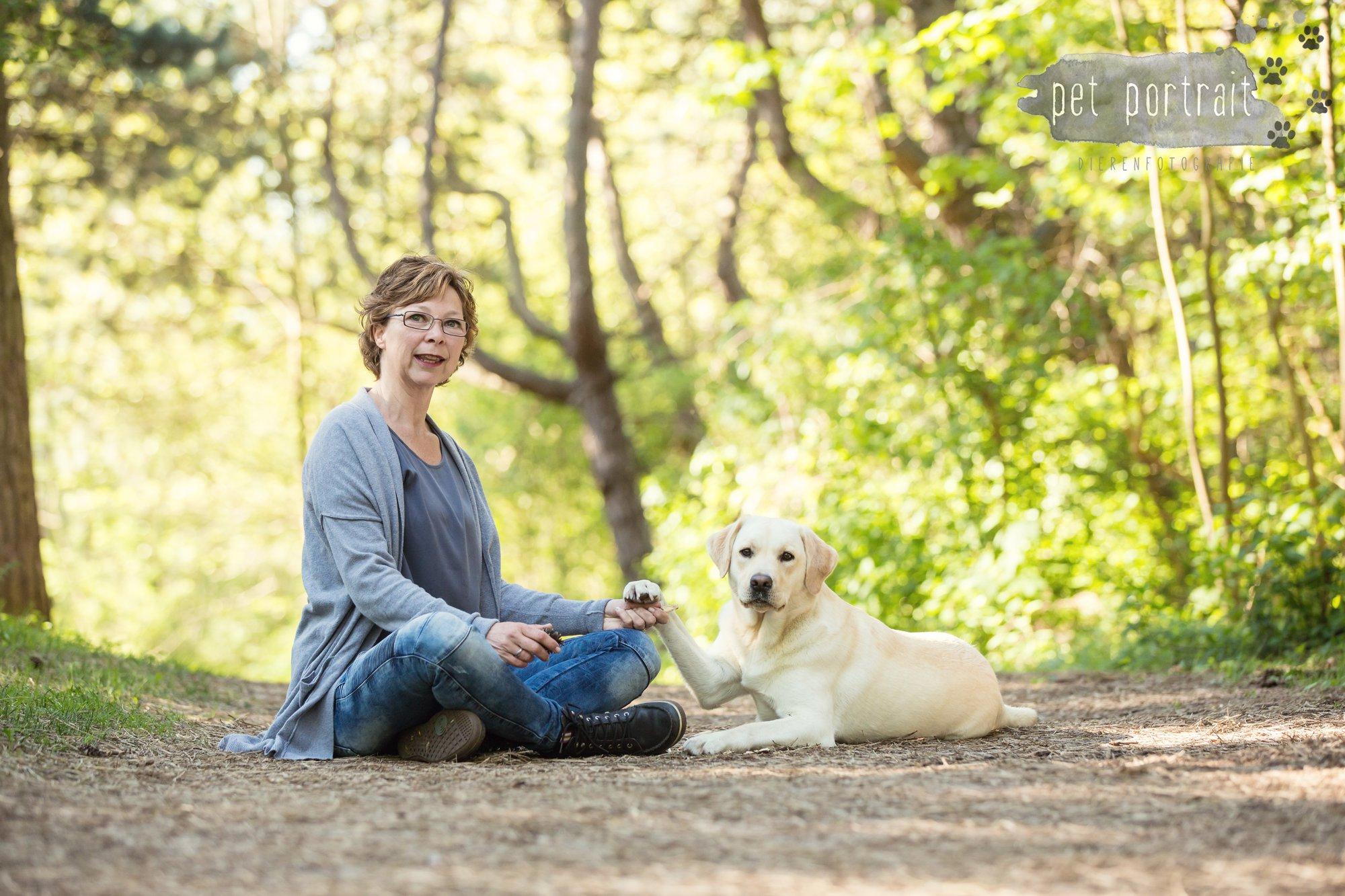 Hondenfotograaf Wassenaar - Beloved Dier en Baasje fotoshoot in de duinen-1