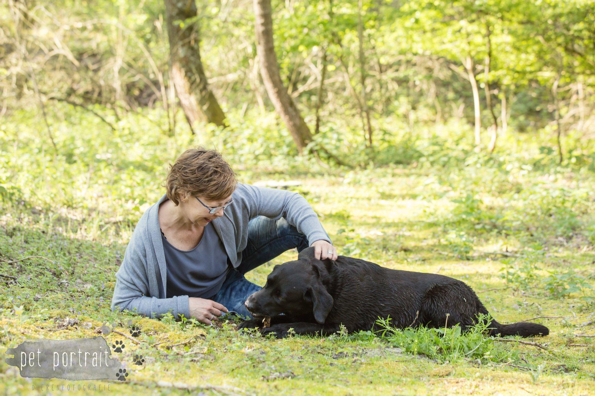 Hondenfotograaf Wassenaar - Beloved Dier en Baasje fotoshoot in de duinen-11