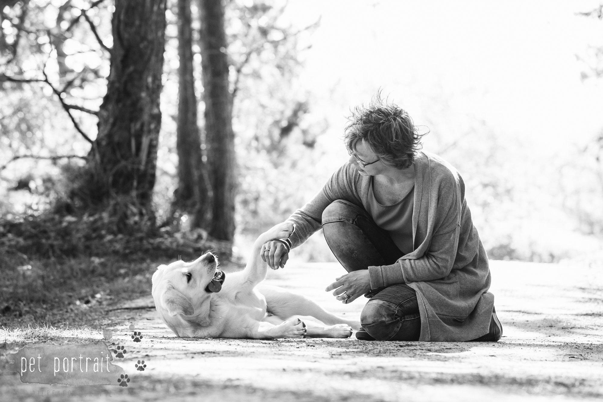 Hondenfotograaf Wassenaar - Beloved Dier en Baasje fotoshoot in de duinen-14