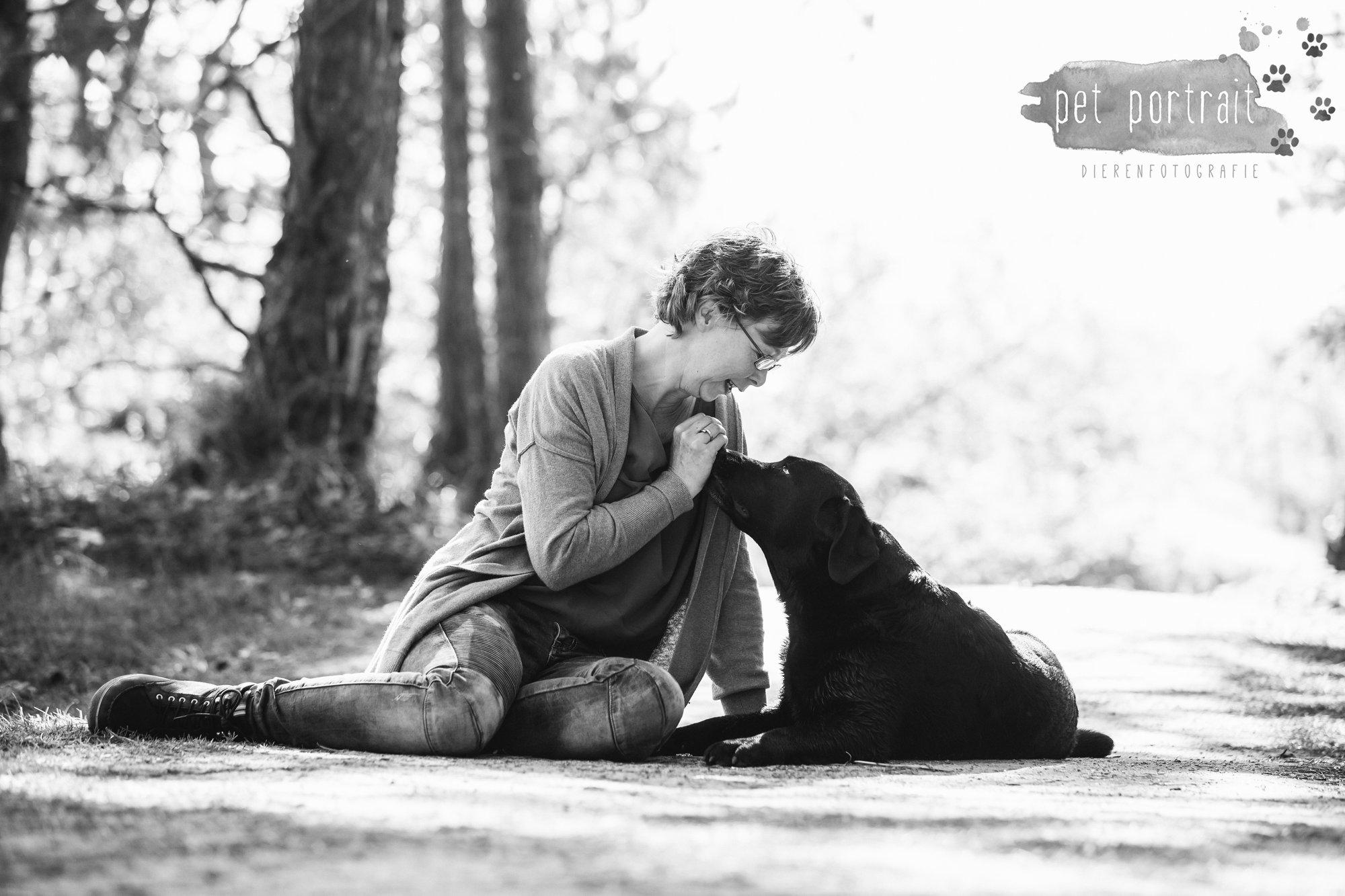 Hondenfotograaf Wassenaar - Beloved Dier en Baasje fotoshoot in de duinen-16