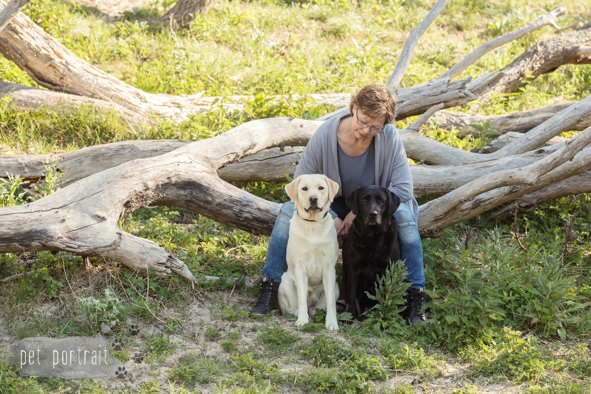Hondenfotograaf Wassenaar - Beloved Dier en Baasje fotoshoot in de duinen-5