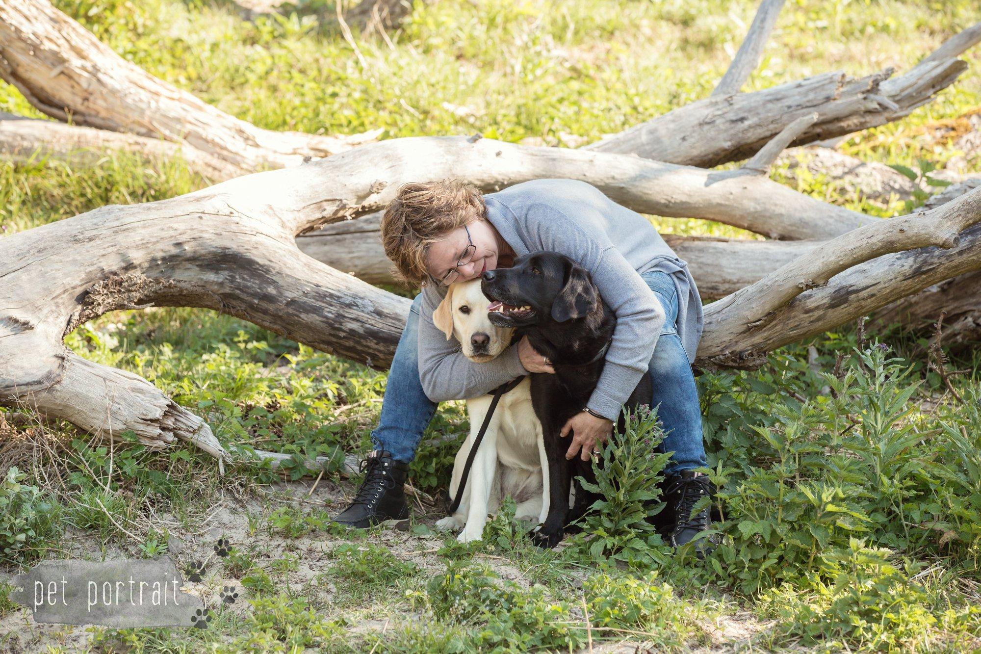 Hondenfotograaf Wassenaar - Beloved Dier en Baasje fotoshoot in de duinen-6