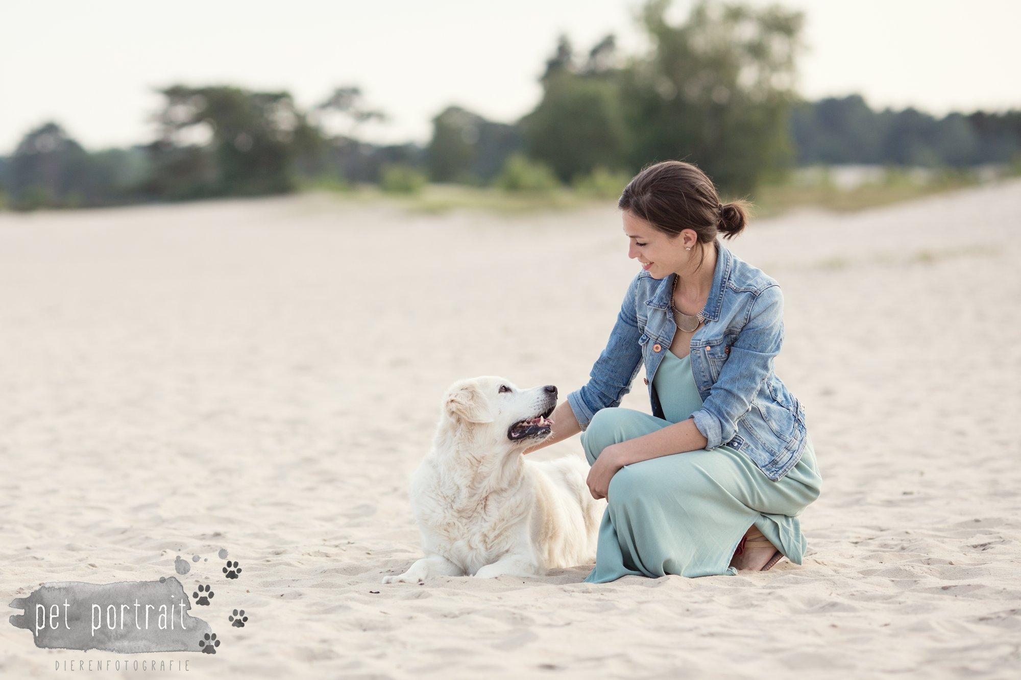 Hondenfotograaf Soest - Dier en Baasje fotoshoot in de Soesterduinen-11