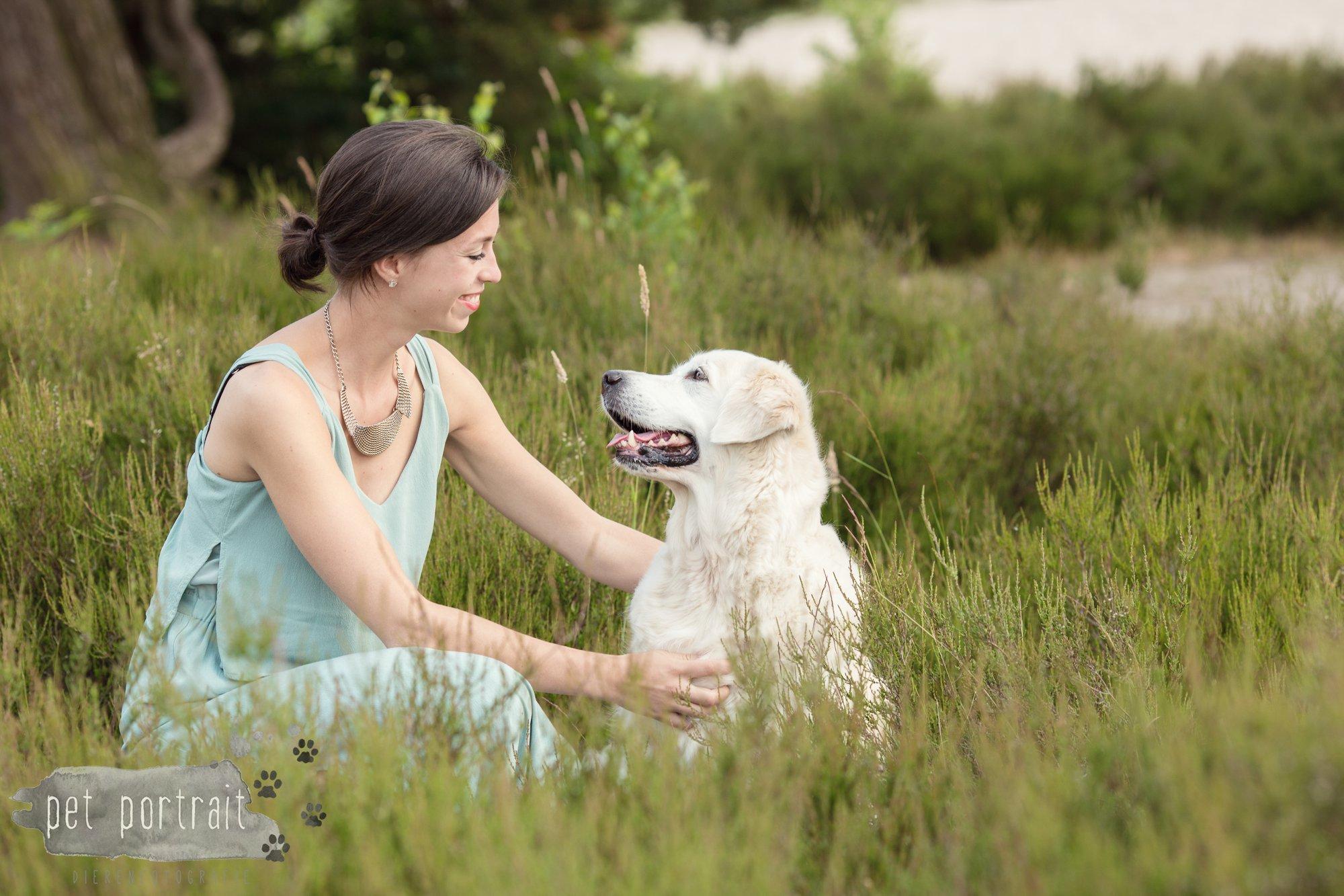 Hondenfotograaf Soest - Dier en Baasje fotoshoot in de Soesterduinen-8
