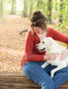 Hondenfotograaf 's-Graveland - Beloved Dier en Baasje fotoshoot Labrador